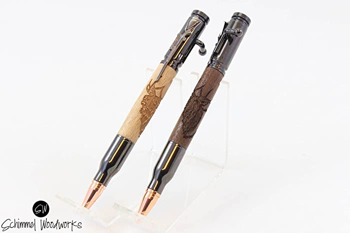 Amazon com: Handmade Schimmel Pen, Bolt Action Bullet Pen
