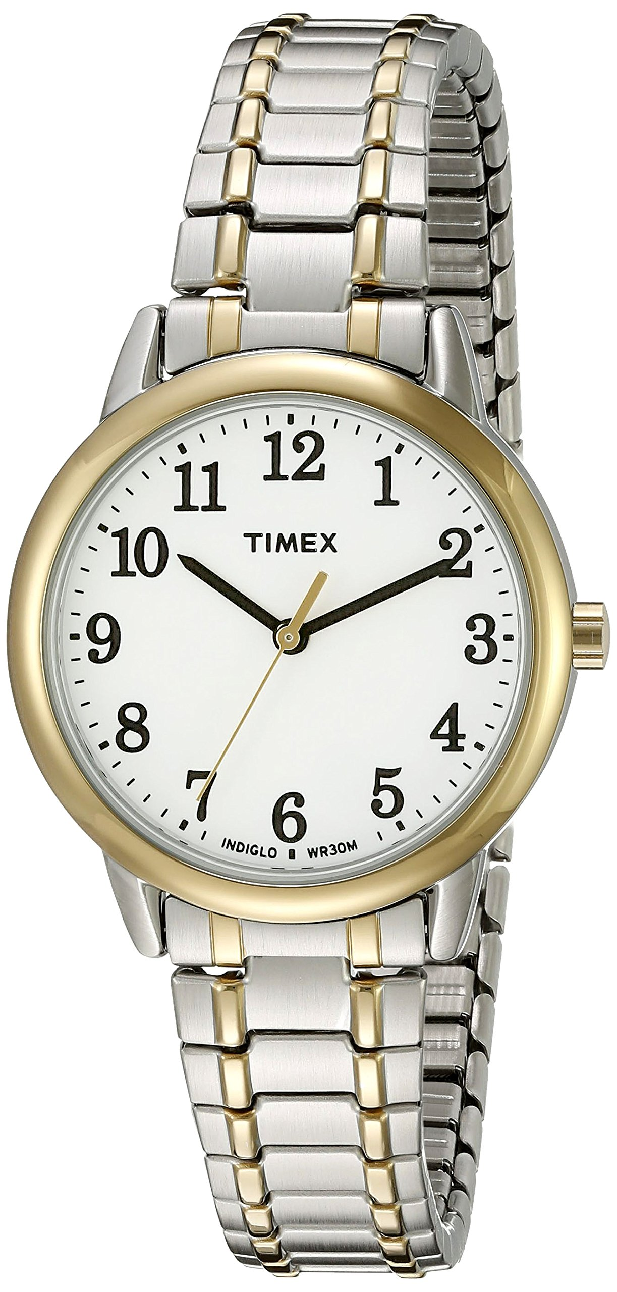 Timex Women's TW2P78700 Easy Reader Two-Tone Stainless Steel Expansion Band Watch by Timex