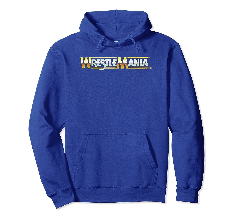 WWE Vintage Wrestlemania Logo-ah my shirt one gift