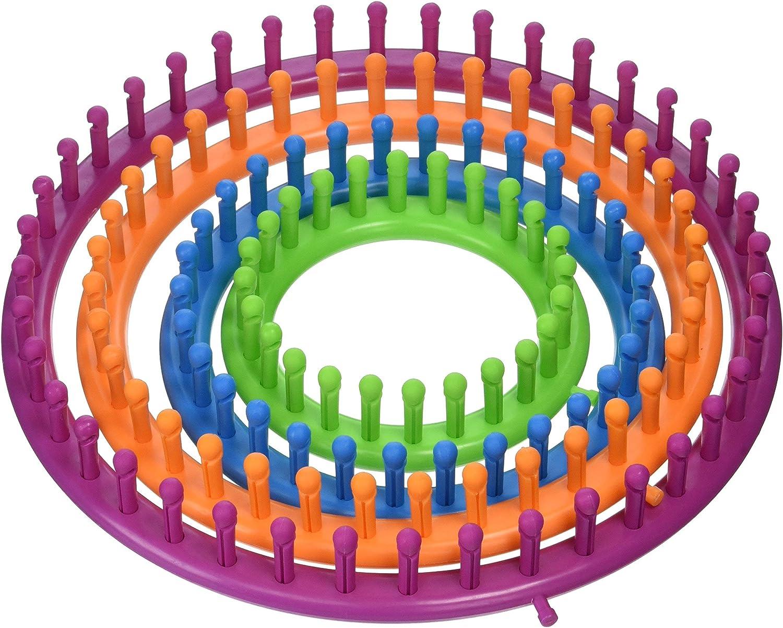 and 11.5 D 5.5 7pc 7.5 Boye Round Knitting Loom Set 9.5