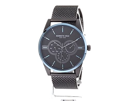 Amazon.com: Kenneth Cole New York Mens Quartz Stainless Steel Casual Watch, Color:Grey (Model: KC15205004): Watches