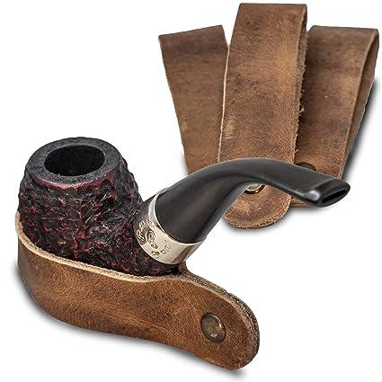 Amazon.com: Soporte de piel, para tubos de tabaco, hecho a ...
