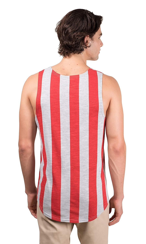 Brooklyn Surf Mens American Flag Sleeveless Jersey Tank Top Shirt Stars Stripes T-Shirt
