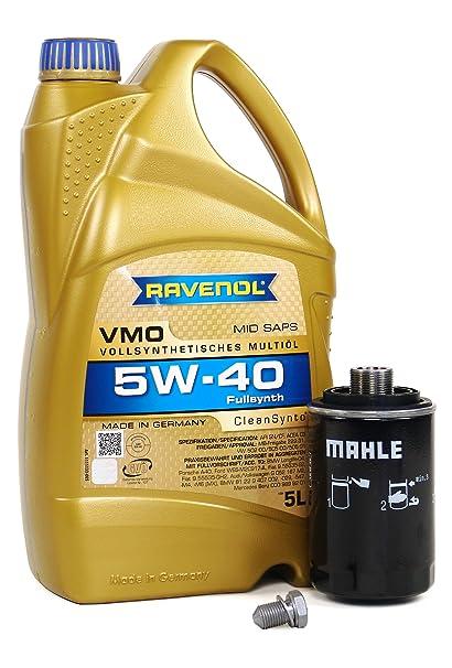 Amazoncom Blau JAD Audi Q Motor Oil Change Kit W - Oil for audi q5