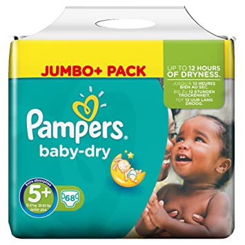 Pampers Baby Dry Couches Taille 5 Junior Plus 13 27 Kg 1 Pack