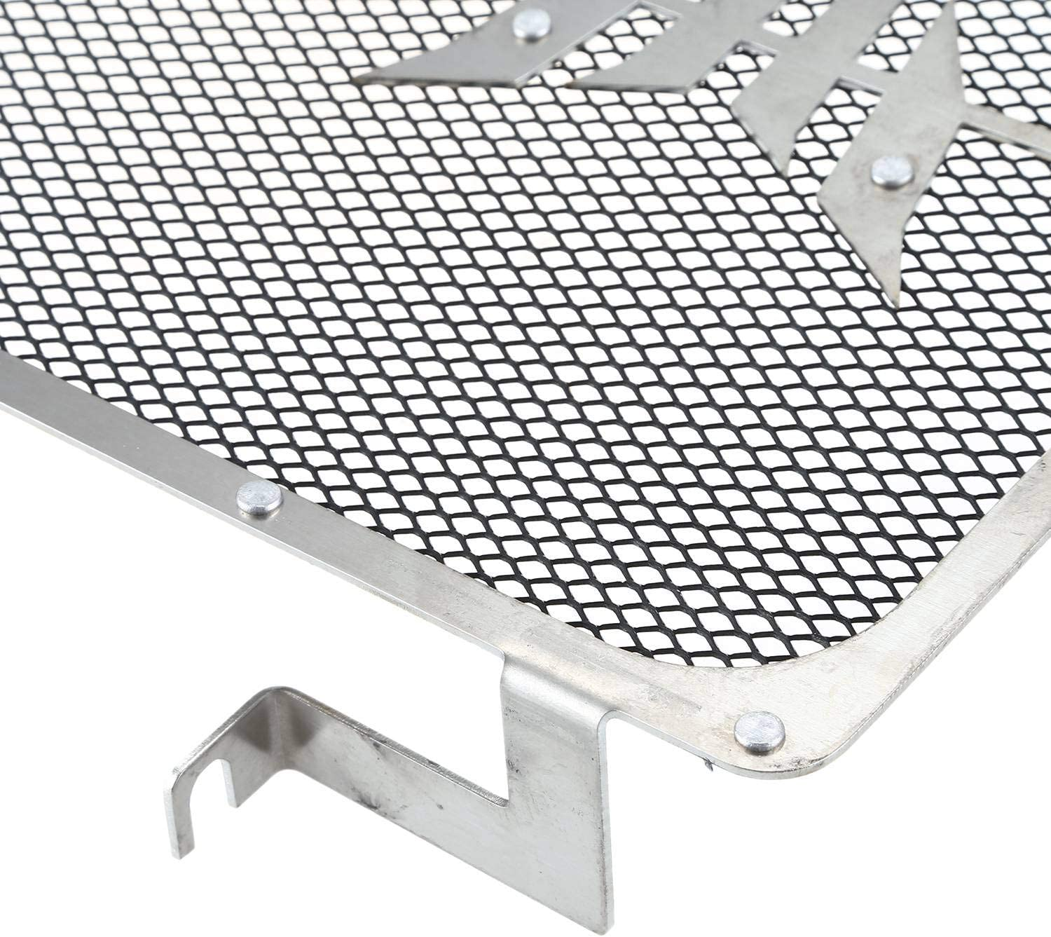 Iycorish Motorcycle Engine Radiator Protective Cover Grill Guard Grille Protector for MT-09 MT09 FZ-09 MT-09 Tracer 2014 2015-2017 Silver