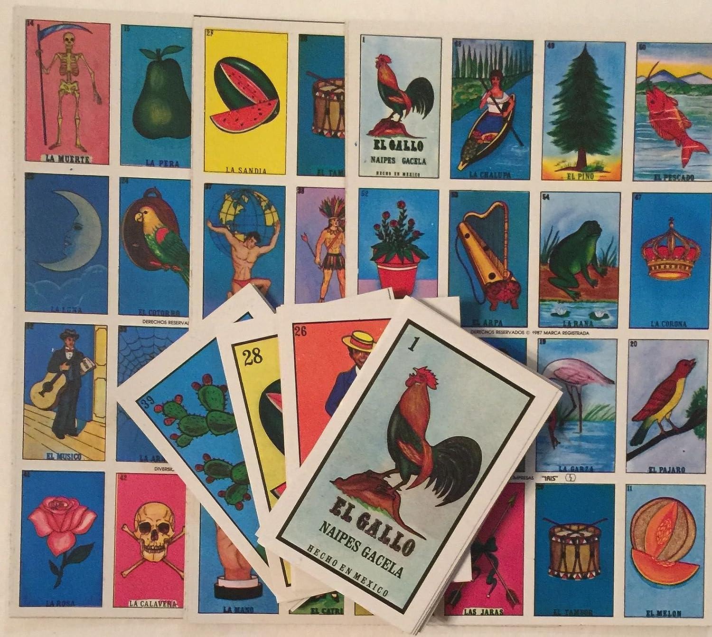 驚きの値段 Authentic Deck Loteria B00TRT5KOQ Mexican Bingo - 10 Boards, Deck Bingo Of Cards Fun And Educational B00TRT5KOQ, clothing warehouse:b89fd82e --- realcalcados.com.br