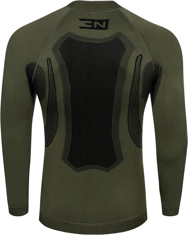 colore nero o grigio grafite Set di biancheria intima da sci//motociclismo per uomo Nordcamp termoattivo e traspirante