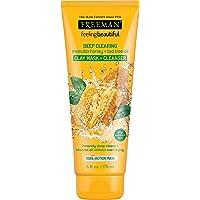 Freeman deep clearing manuka honey + tea tree oil Clay mask + Cleanser 6 oz (175 ml)