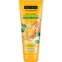Freeman Deep Clearing Clay Facial Mask and Cleanser with Manuka Honey and Tea Tree...