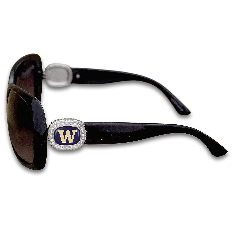 FTH Washington Huskies Chantilly Sunglasses Embellished with Rhinestone Logo