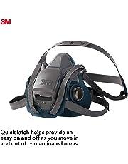 3M™ Quick Latch Rugged Comfort Half Facepiece Reusable Respirator, 6502QL, medium