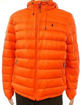Lauren Polo Signature Packable Jacket Ralph Mens Puffer D2WEH9I