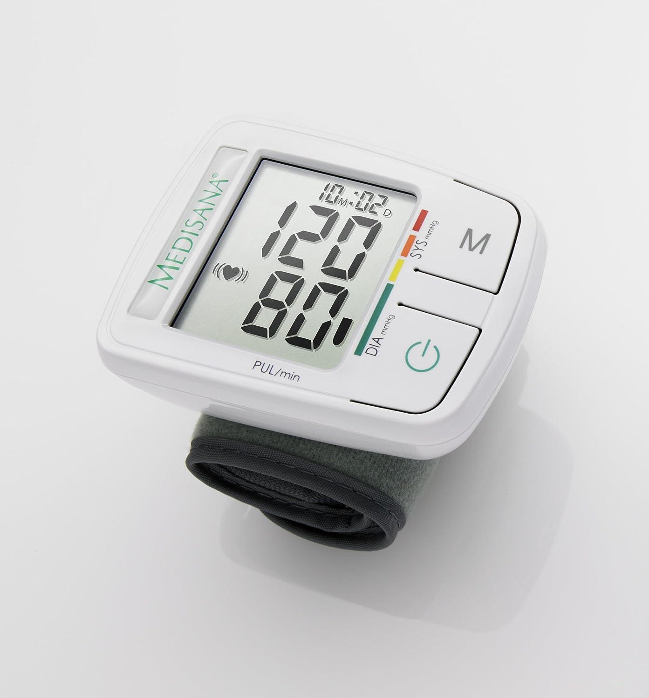 Medisana HGF - Tensiómetro de muñeca, con función semáforo: Amazon.es: Salud y cuidado personal