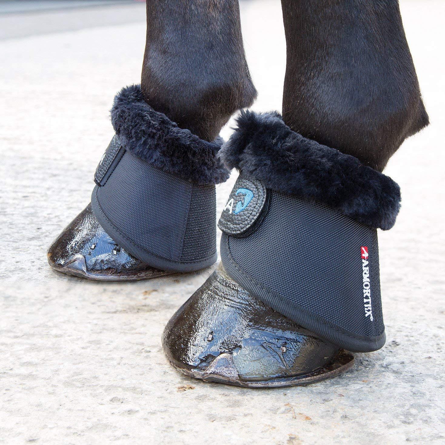 Cob Arma Fur Trimmed Overreach Boots