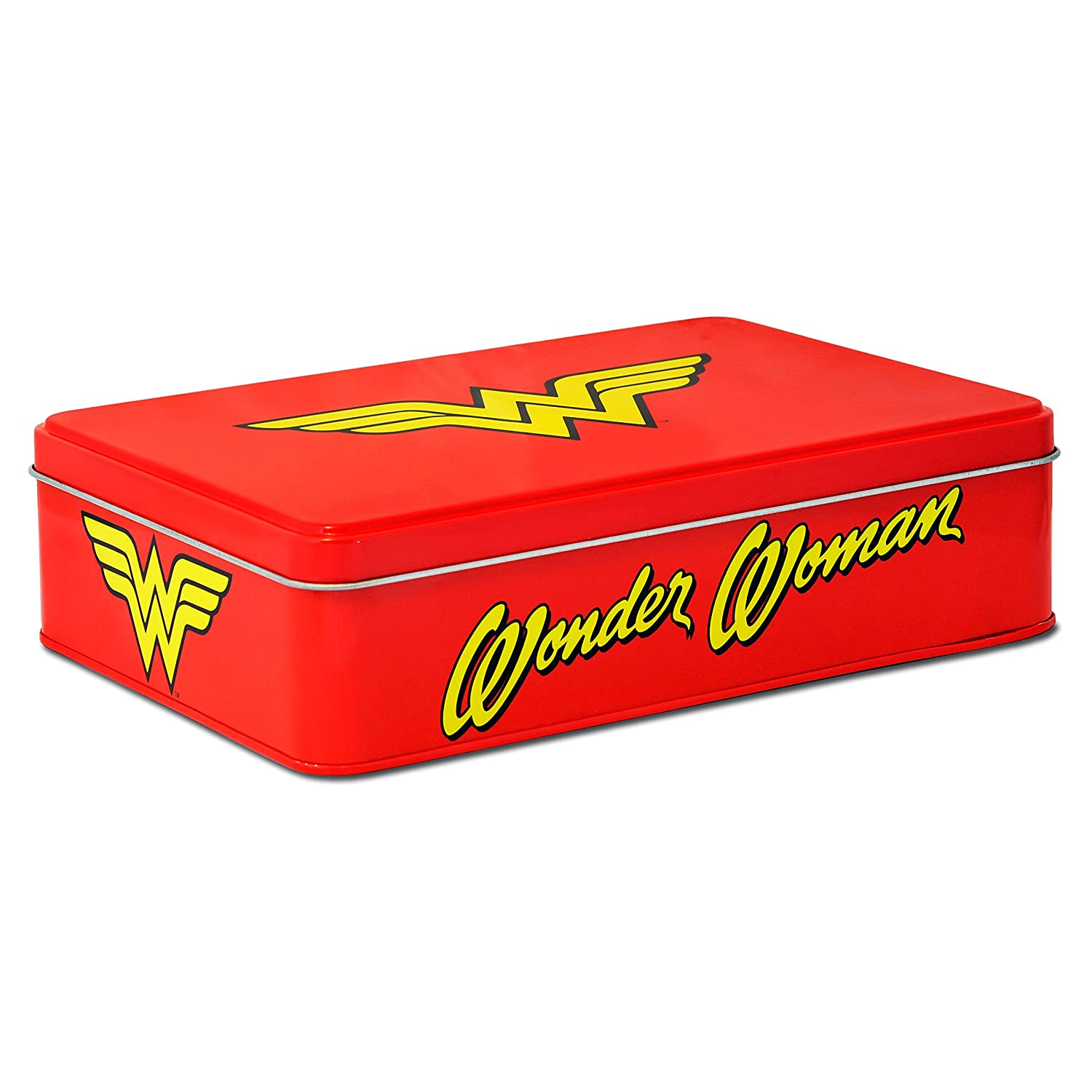 Wonder Woman 6395349010 Lata (Metal, Rojo, 21 x 5,5 x 15 cm ...