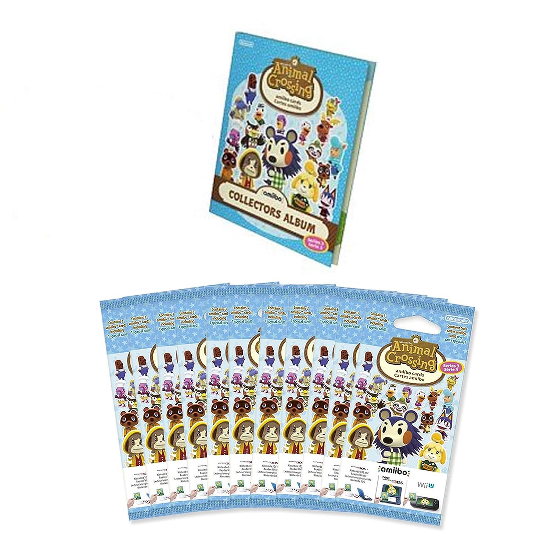 Amiibo Animal Crossing Starter Pack Vol. 3 mit Sammelalbum und 11 ...