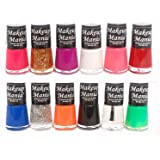 Makeup Mania Trendy Colors Nail Polish Enamel Set, Multi-Color No.73 (Combo Of 12)