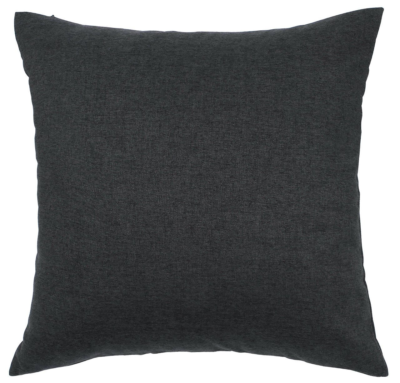 TangDepot Solid Wool-like Throw Pillow Cover/Euro Sham/Cushion Sham, Super Luxury Soft Pillow Cases - Handmade - Many Colors & Sizes Avaliable - (28''x28'', Dark Gray)