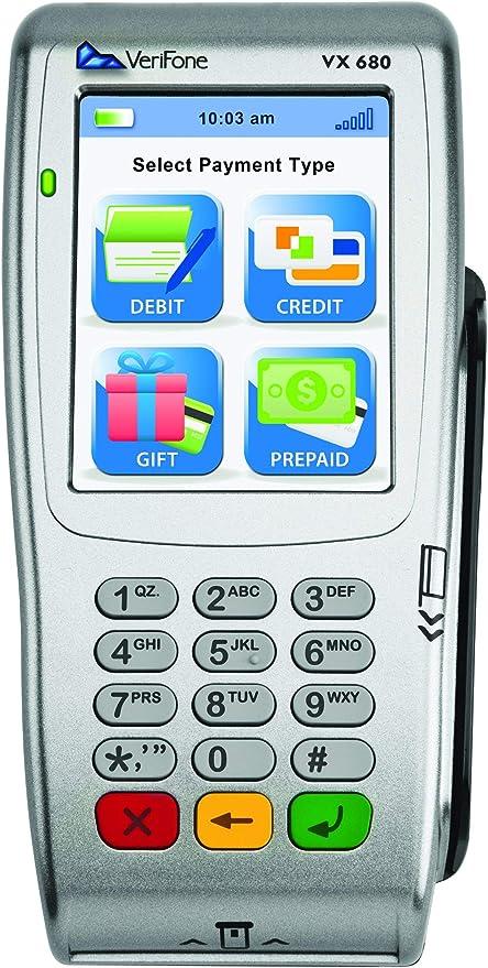 Amazon.com: VeriFone vx680 Terminal GPRS inalámbrico - con ...
