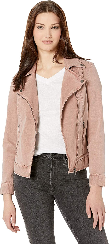 7d5835383b76 Liverpool Women's Moto Jacket in Slub Stretch Twill at Amazon Women's Coats  Shop