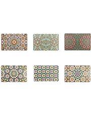 Villa d'Este Home Tivoli Marrakech Set 6 Tovagliette, Assortito, 44x28x0.1 cm 6 unità