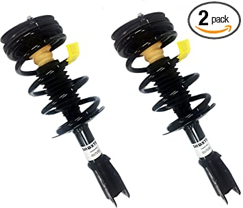 OREDY Front Pair 2Pieces Complete Struts Assembly Shock Coil Spring Assembly Kit Compatible with Chevy Classic 2004 2005//Chevy Malibu//Oldsmobile Alero//Pontiac Grand AM 1999 2000 2001 2002 2003