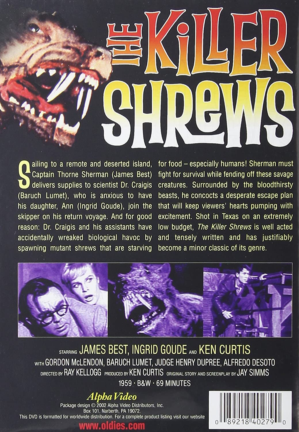 Amazoncom The Killer Shrews James Best Ingrid Goude Ken