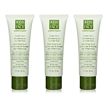 Amazon Com Kiss My Face Organics Break Out Botanical Acne Gel