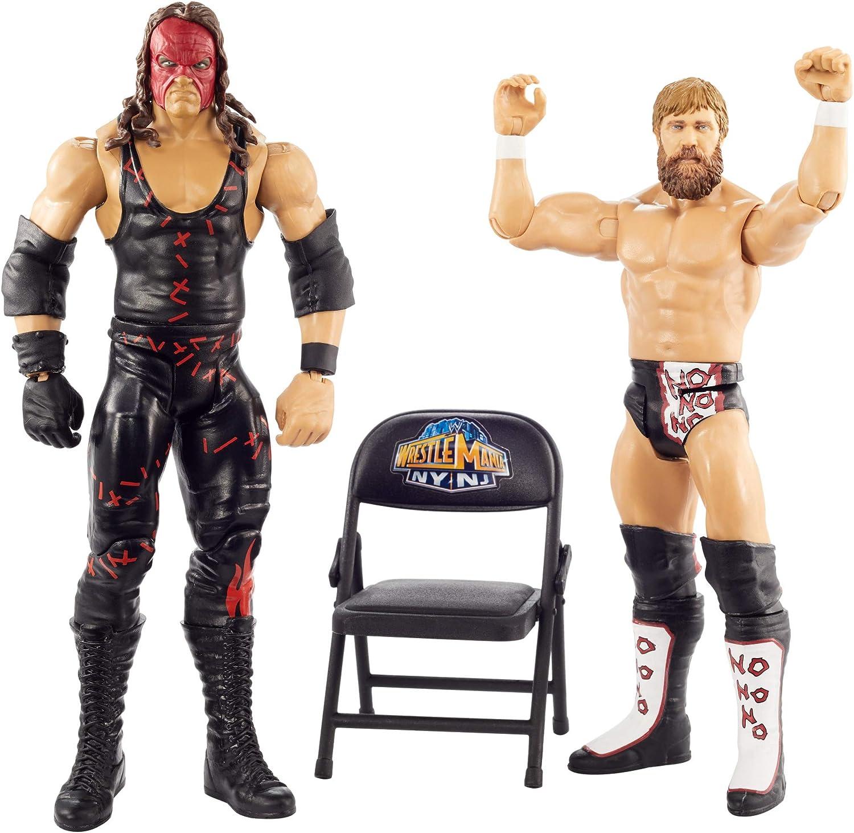 WWE Wrestle Mania 2 Pack Figuras - Kane y Daniel Bryan: Amazon.es: Juguetes y juegos