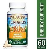 Host Defense - Cordyceps Capsules, Mushroom for Energy Support, 60 Count (FFP)