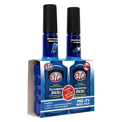 STP ZSTP04 Kit pre ITV con Limpia Inyectores Coches Diésel 200 ml