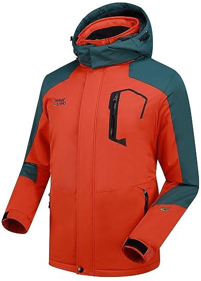 Warme Gefüttert Winterjacke Herren Damen Softshelljacke Wasserdicht Atmungsaktiv Wanderjacke Outdoor Funktionsjacke Sport Regenjacke