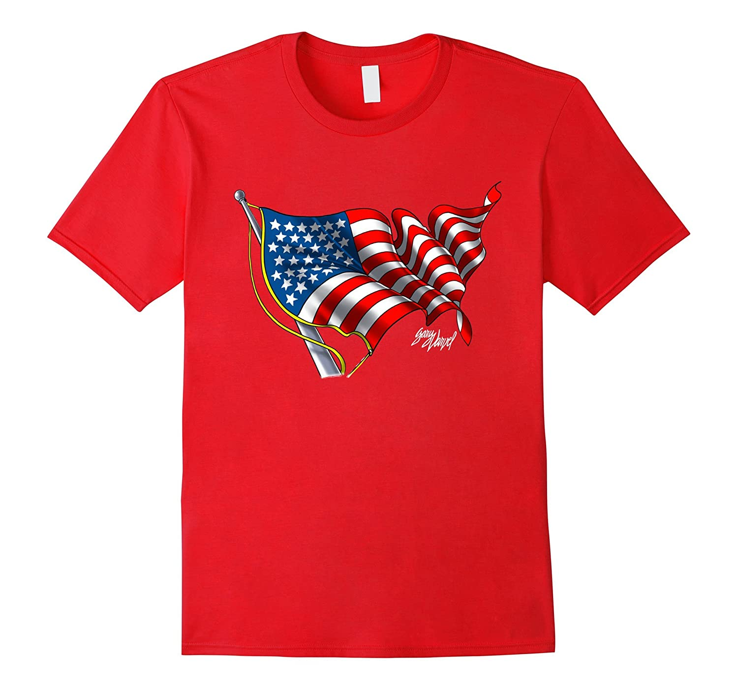 American Flag Celebrate USA T-shirt-FL