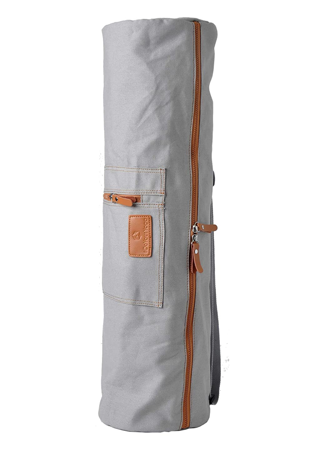 For extra large/yoga mats/up to a size/of 186 x 63 x 0.6 cm /Multi-Functional Storage Pocket/ #DoYourYoga Yoga mat bag /»Sunita/« from 100/% cotton available in 9 beautiful colours.