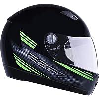 Capacete New Ebf 7 Carbon 60/Preto/Verde