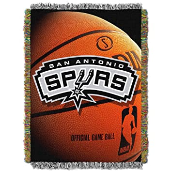 Amazon Northwest San Antonio Spurs Nba Woven Tapestry Throw Magnificent Spurs Throw Blanket