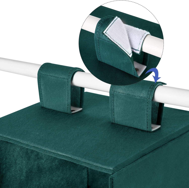 Beige etc MaidMAX Organizador de Armario de 6 Niveles Organizador de Ropa para Guardar Ropa Estante de Tela para Armario Toallas Estanter/ía Colgante de Tela
