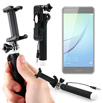 DURAGADGET Palo Selfie (Selfie-Stick) para Smartphone Huawei Nova ...