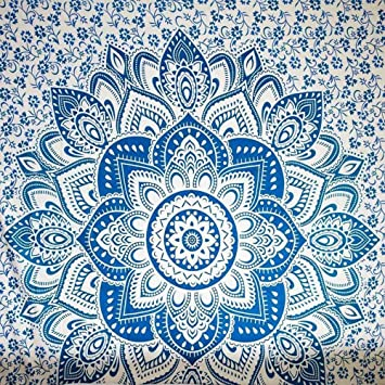 Toalla de Playa Cuadrada Mandala Manta Yoga Mat Picnic Mat Mantel Chal para Colgar decoración del hogar Arte de Pared para Dormitorio Sala de Estar, ...