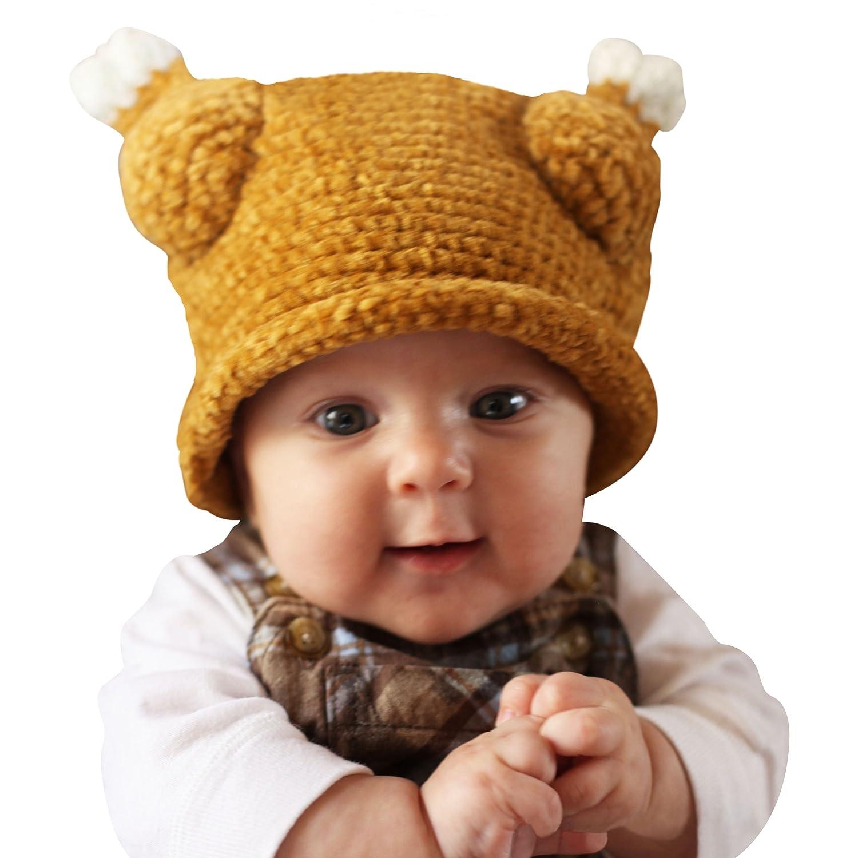Amazon melondipity little turkey thanksgiving baby hat amazon melondipity little turkey thanksgiving baby hat brown winter crochet beanie clothing bankloansurffo Gallery
