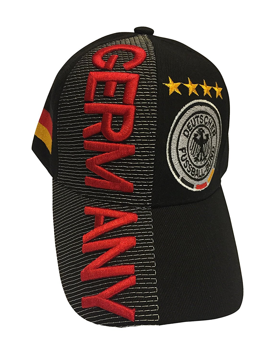 12c01a3c558e05 Baseball Caps Hats with Five 3D Embroideries - Countries of Europe, Baseball  Caps - Amazon Canada