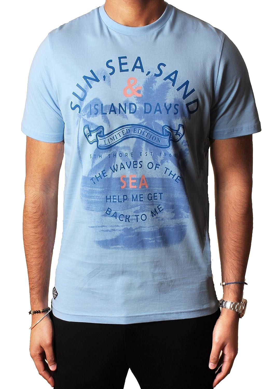 Sth Shore Mens Grafische sortierte Fotodruck t-Shirts  Entwerferbaumwolloberseite Südufer, S-XXL: Amazon.de: Bekleidung