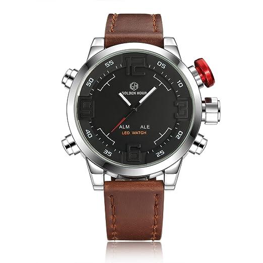 Nuevo reloj caliente para hombre personalizado de alta gama cinturón de alta gama relojes de comercio exterior Explosion Modelos: Amazon.es: Relojes