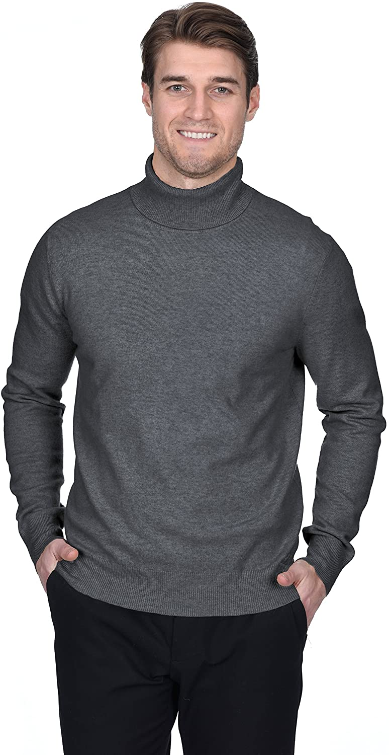 Moss London Mens Jumper Navy Blue Roll Neck Sweater Pullover Casual Top