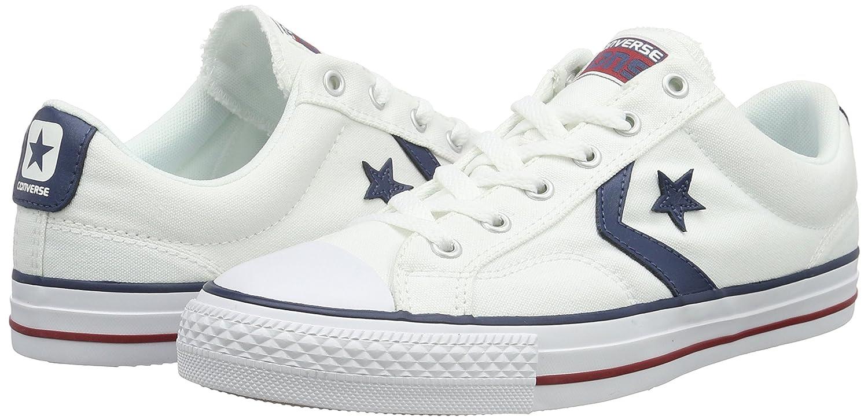 Converse Unisex-Erwachsene Unisex-Erwachsene Unisex-Erwachsene Star Player Ox Weiß Navy Low-Top 9a3fe4