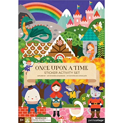 Petit Collage Once Upon A Time Sticker Activity Set : Baby