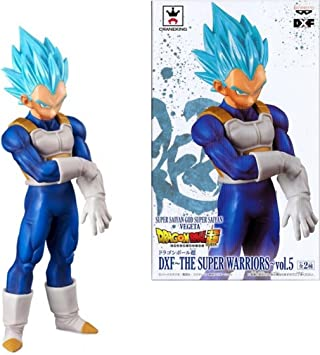 Dragon Ball Super The Super Warriors Vol 5 Vegeta SSJ Blue