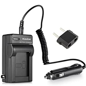 Kastar Travel Charger Kit for Kodak KLIC-7003 K7003, GE GB-40 & Kodak EasyShare M380 M381 EasyShare M420 EasyShare V803 EasyShare V1003 EasyShare Z950, GE E1030 E1040 E1050TW E1240 E1250TW E850 H855