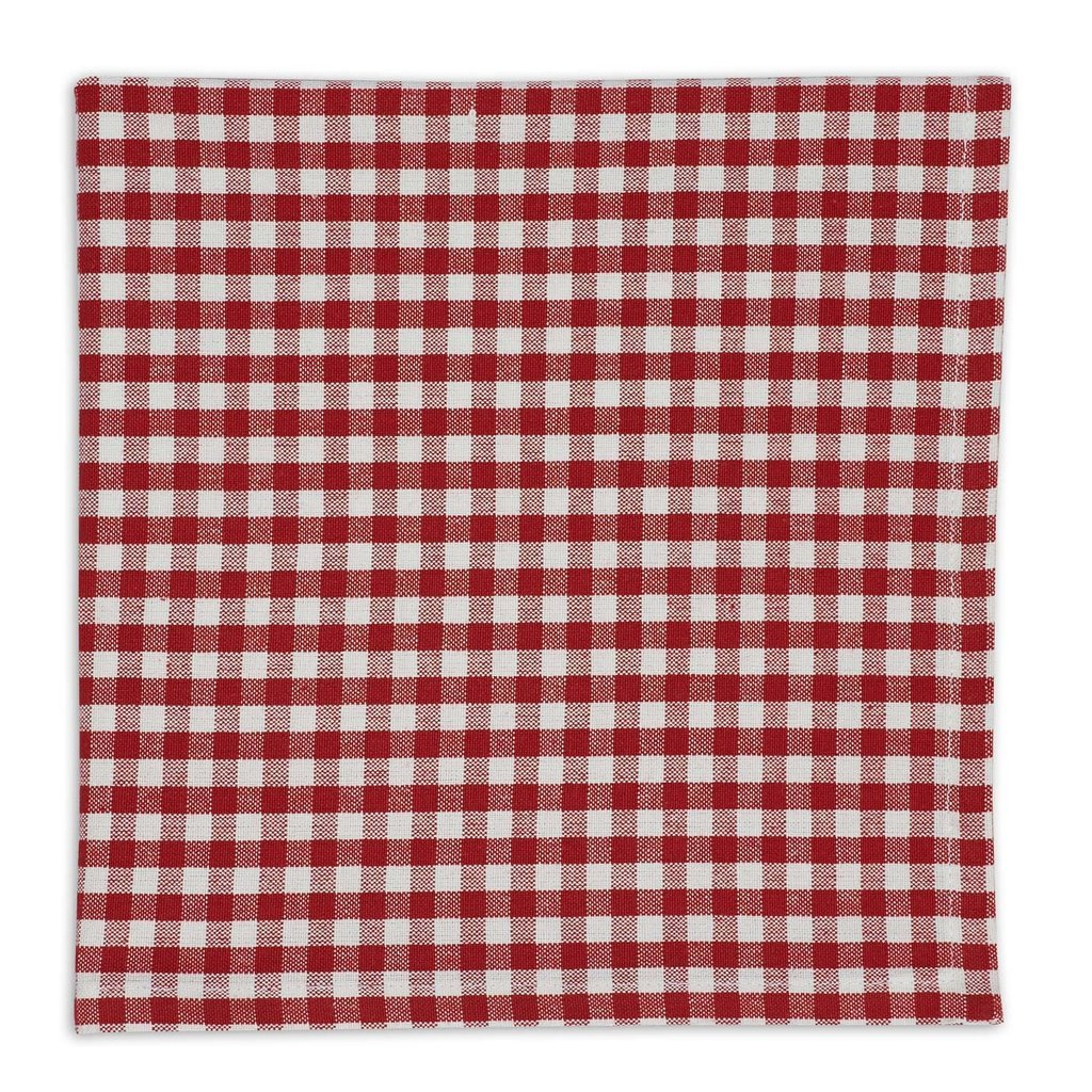 Heart of America Red Checkin Little Napkin - 6 Pieces
